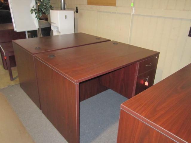 Small Single Pedestal Desk Desks A Affordable Office