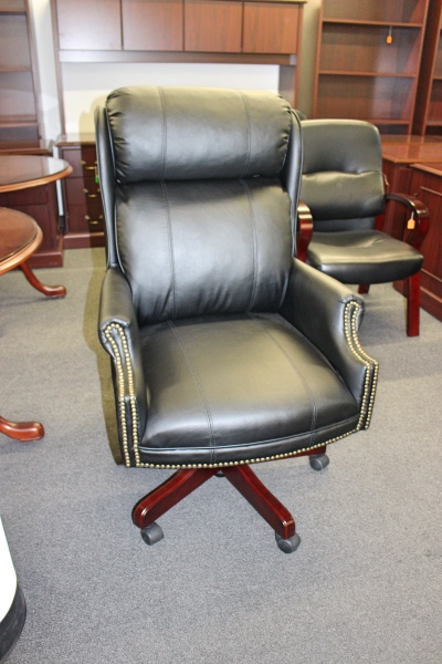 High Back Leather Executive Chair Office Chairs A