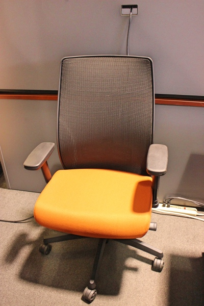 Mesh back task chair chairs a affordable office furniture for Affordable furniture orange tx