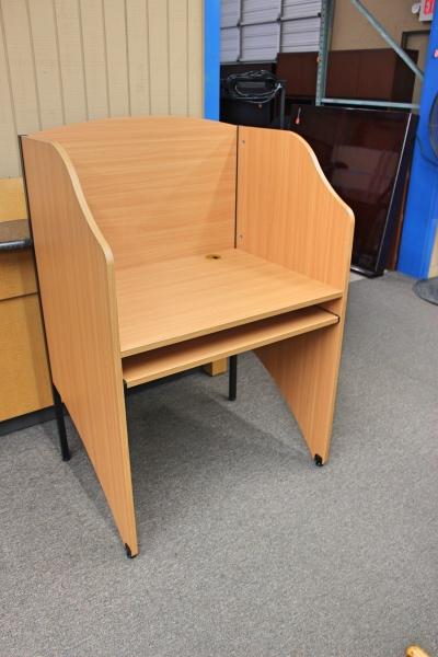 Privacy Desk With Keyboard Tray  Desks  Aaffordable. Pine Farmhouse Table. Outdoor Farm Table Plans. Sauder New Cottage Desk. Quartz Coffee Table. Best Desk Chairs For Posture. Ch Robinson Help Desk. Brent Dog-leg Desk. Girls Dressing Table Desk