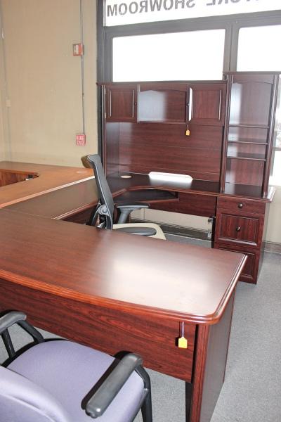 U Shaped Desk With Hutch Desks A Affordable Office
