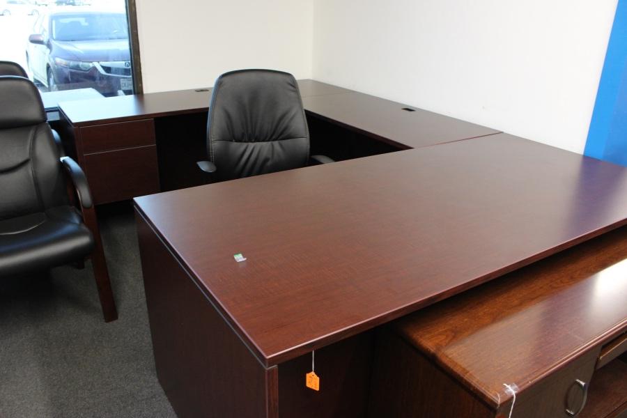 U Shaped Desk Desks A Affordable Office Furniture