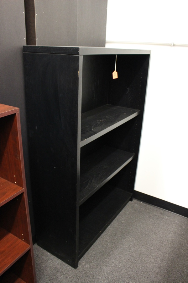 New Office Source Mahogany Laminate Bookcase A Affordable