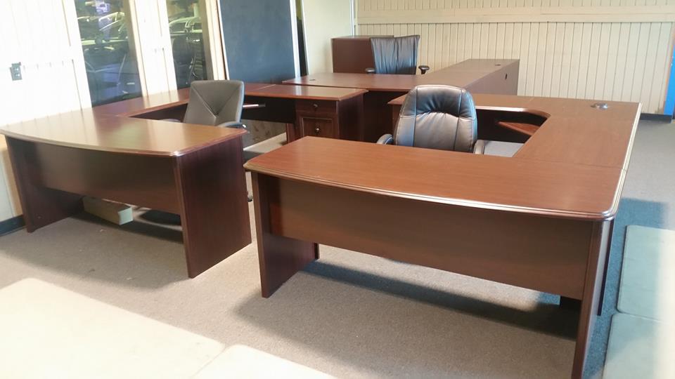 U shaped desk desks a affordable office furniture for Affordable furniture 45 north