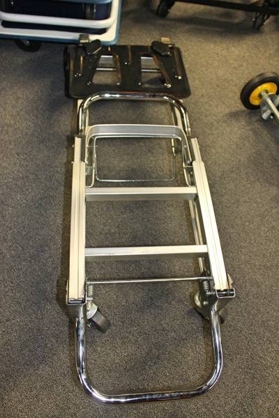 Folding hand truck flea market a affordable office for Furniture hand truck