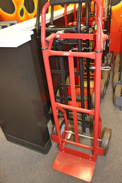 Adjustable hand truck flea market a affordable office for Furniture hand truck