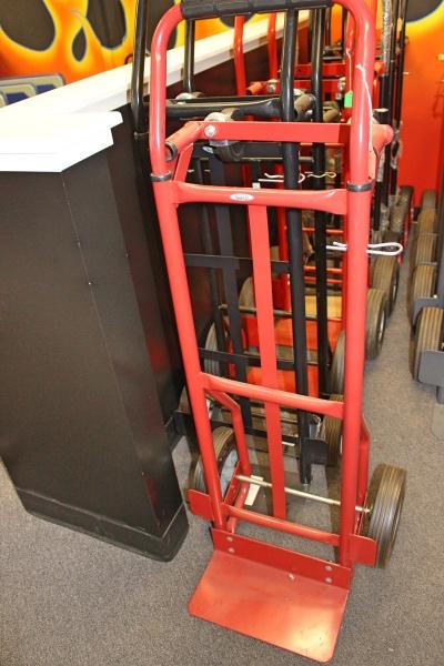 Adjustable hand truck flea market a affordable office for Furniture hand truck