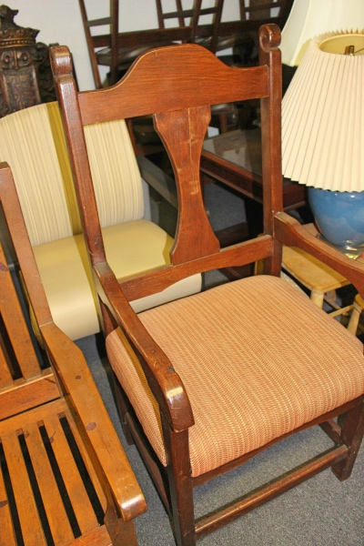 Vintage Wooden Chair Humble TX