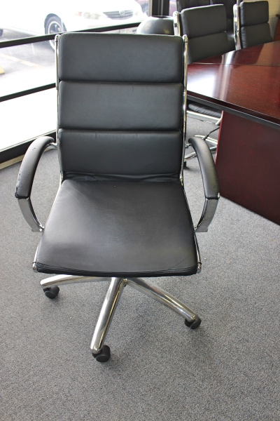 leather metal task chair office chairs a affordable