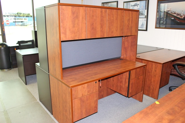 Credenza With Hutch New Inventory A Affordable Office