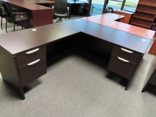 Excellent Desks Espresso Laminate Pasadena Tx Desks A Affordable Download Free Architecture Designs Rallybritishbridgeorg