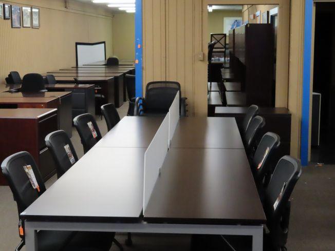 Fantastic Desks 8 Person Work Station Pasadena Tx Desks A Download Free Architecture Designs Rallybritishbridgeorg