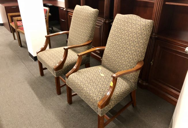 Guest Chair High Back Upholstery Spring Tx