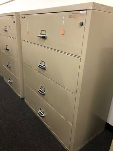 Filing Cabinet Fireking Clic Lateral File Sheldon Tx