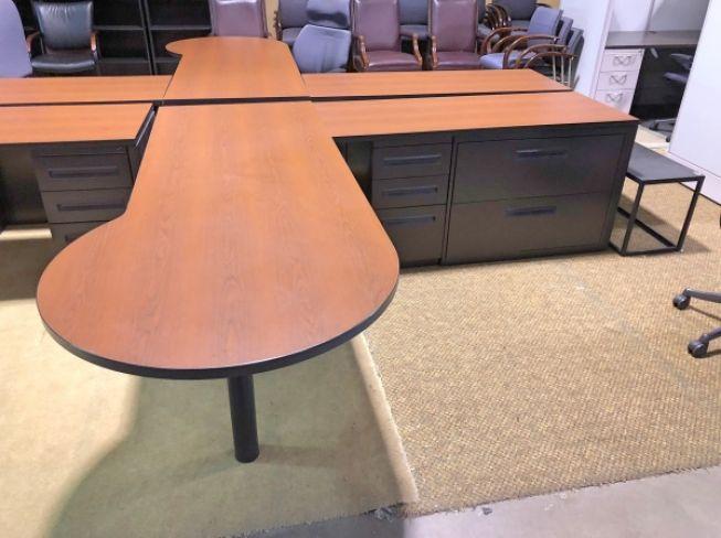 Cool Desk L Shape Peninsula Desk Pasadena Tx Desks A Download Free Architecture Designs Rallybritishbridgeorg