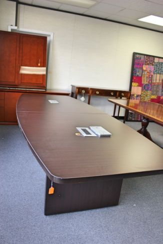 Ft Boat Shaped Conference Table Houston TX Conference Tables - 12 foot conference table