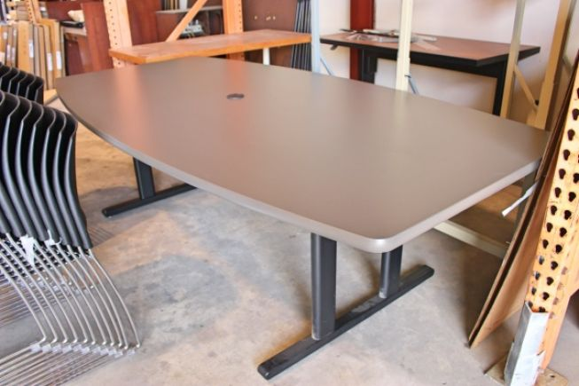 Boat Shaped Conference Table USED Conference Tables AAffordable - L shaped conference table