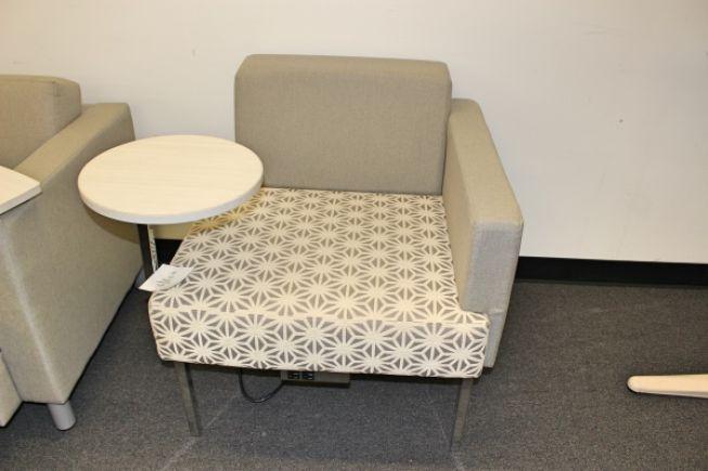 Global Ballara 9751 Modular Contemporary Reception Tablet Arm Chair Houston TX