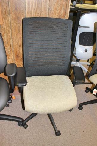 Global 2661 Loover High Back Weight Sensing Synchro Tilter Chair Houston TX