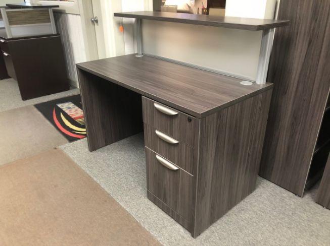 Desk Small Receptionist Desk Used Desks A Affordable