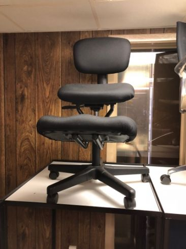 Surprising Office Chairs Kneeling Chair With Back Support Office Lamtechconsult Wood Chair Design Ideas Lamtechconsultcom