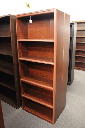 4 Shelf Rounded Corner Bookcase