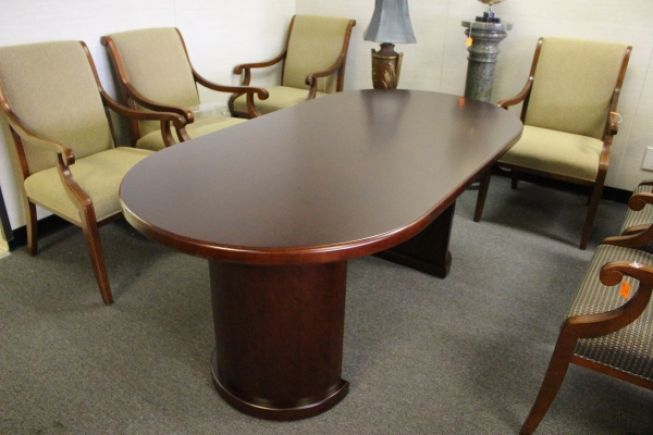 Oval Shaped Conference Table USED Conference Tables AAffordable - Oval shaped conference table