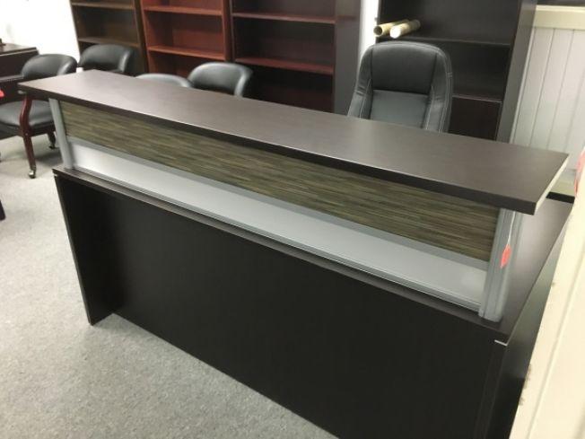 New Office Source Pl Series Reception Desk Reception Desks A